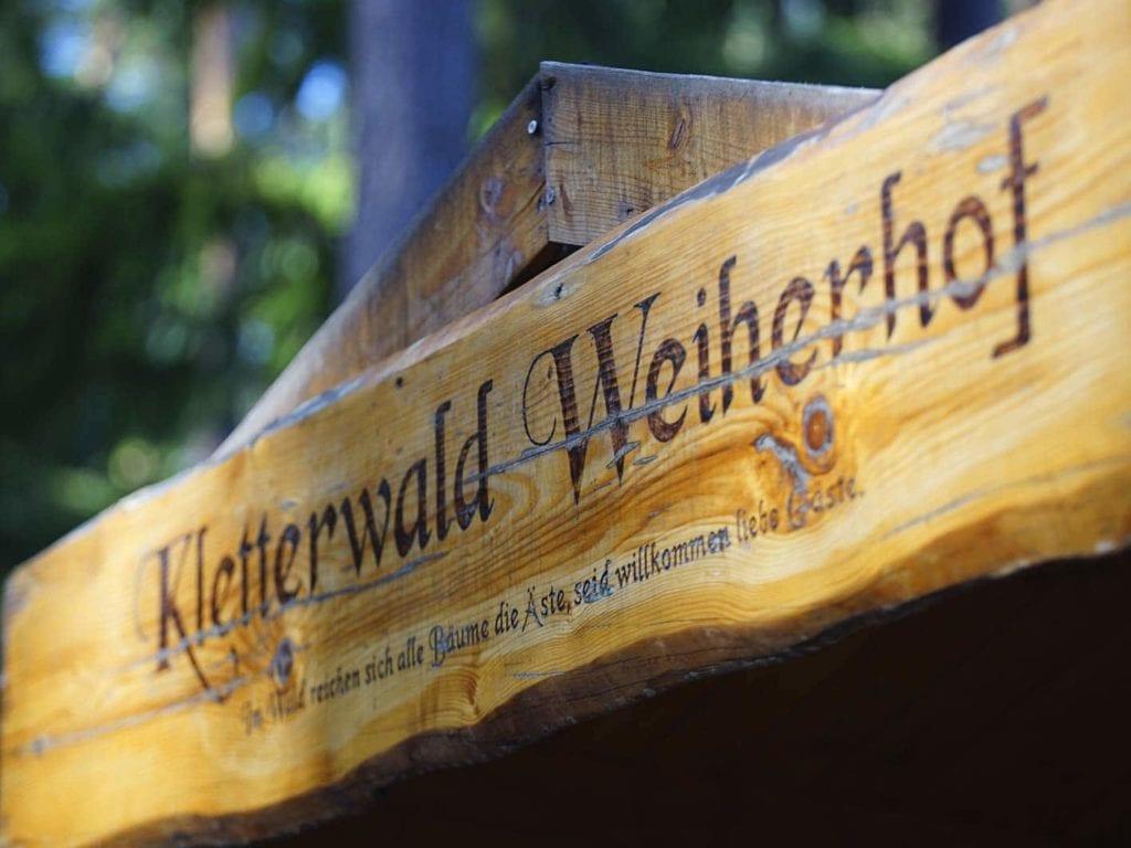 Azubi Event MR Datentechnik im Kletterwald Weihershof