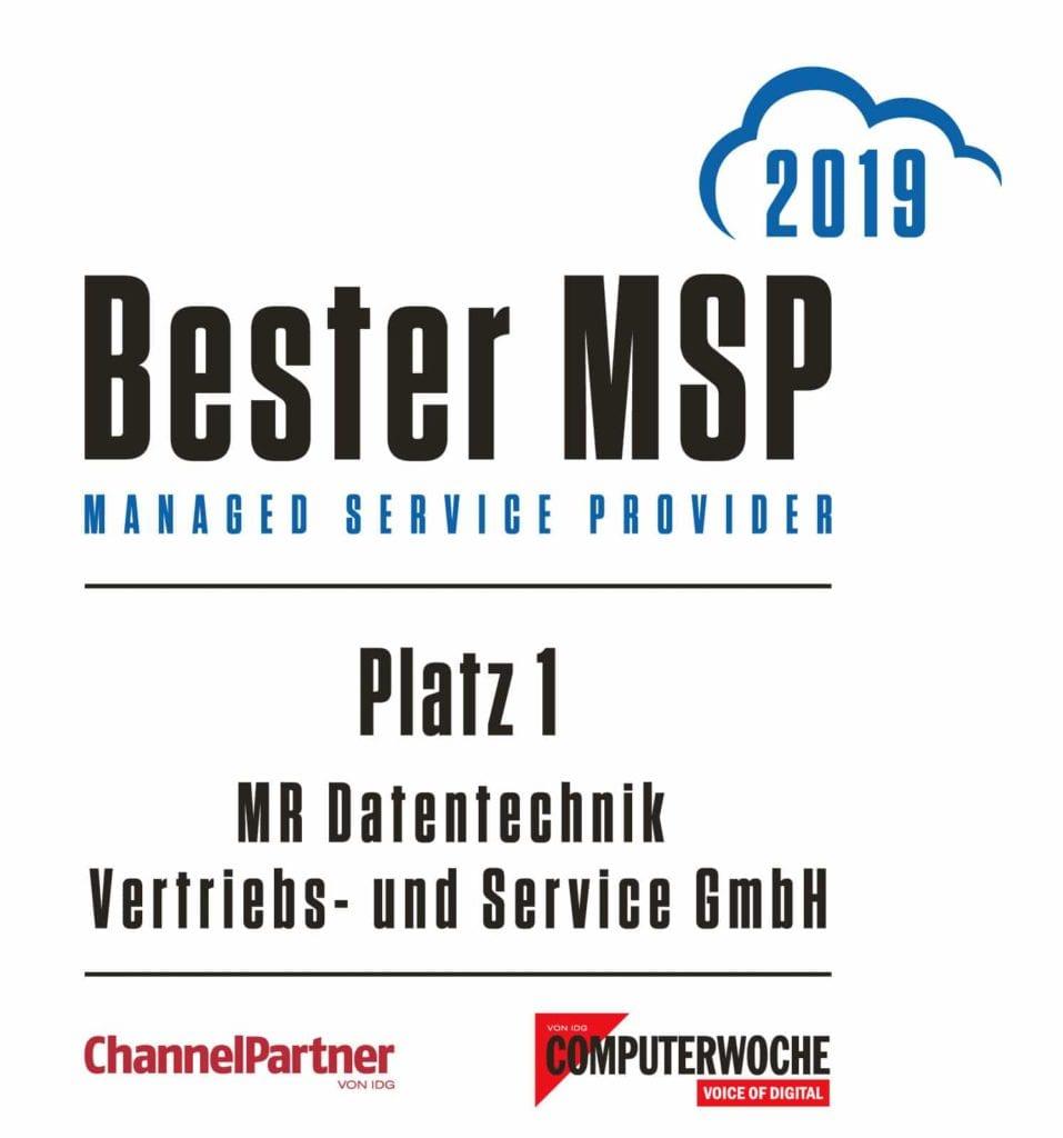 Signet Bester Managed Service Provider 2019