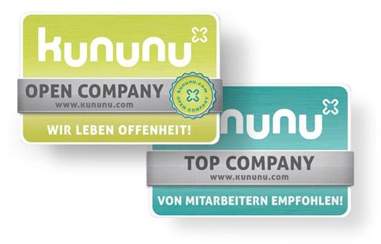 Kununu Siegel Top Company