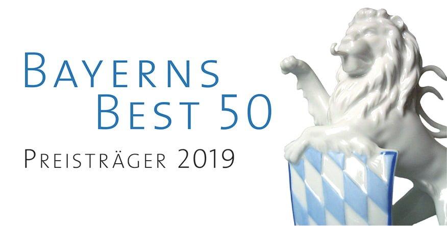 Signet Bayerns Best 50 2019