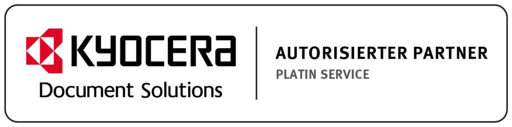 Logo Kyocera Platin Partner