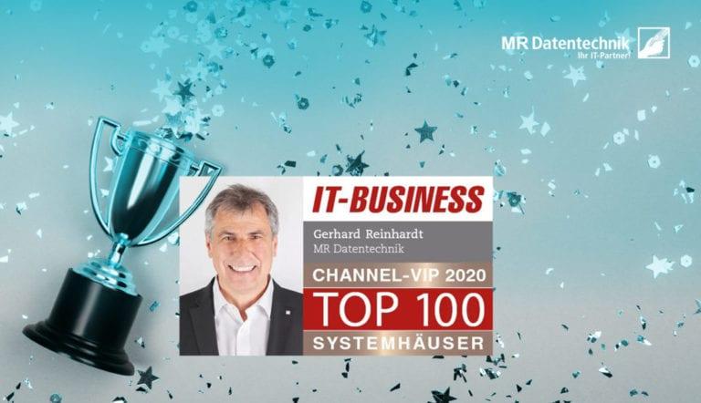 Auszeichnung: Top 100 Channel VIPs Systemhäuser 2020