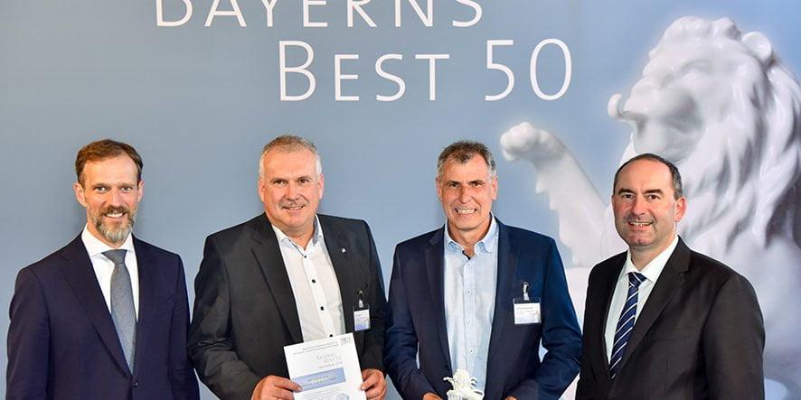 Auszeichnung zu Bayerns Best 50 2019
