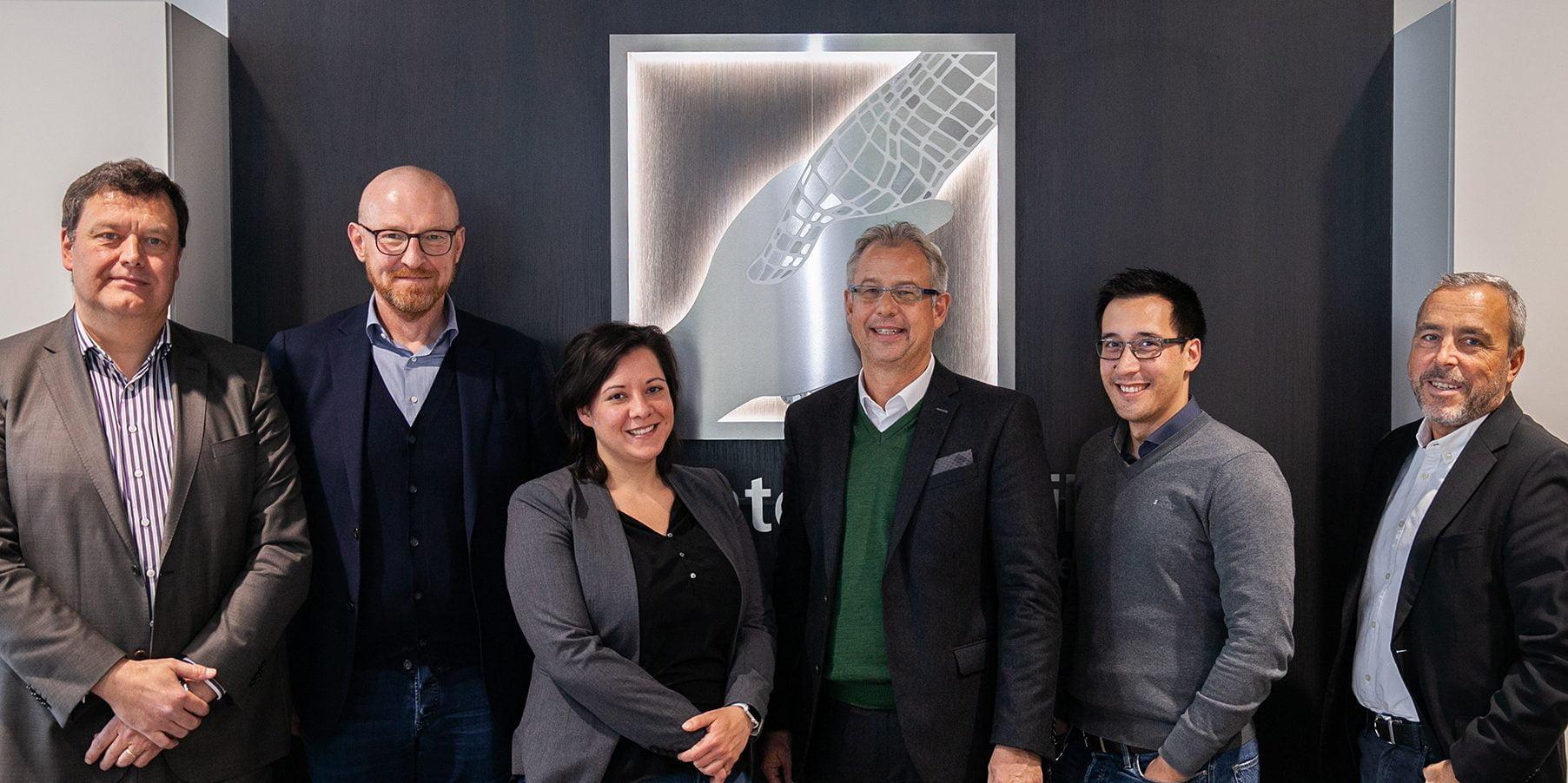 Gruppenfoto Partnerschaft MR und NVIDIA