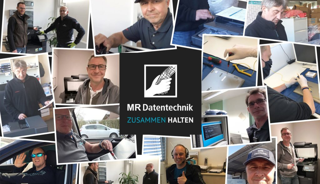 Collage MR Techniker im Einsatz