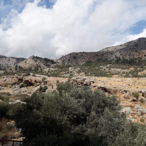 Felsige Landschaft Kreta