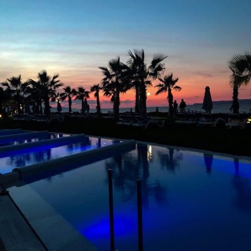 Sonnenuntergang Kreta Lyttos Beach