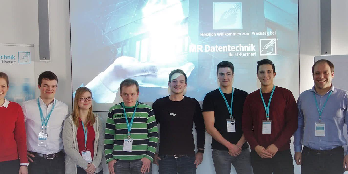 MR Datentechnik Praxistag Gruppenbild