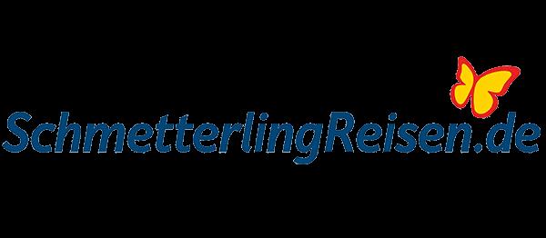 Schmetterling Reisen Logo
