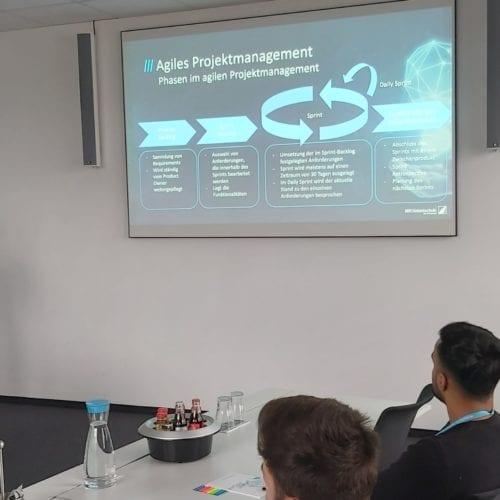 MR Inhouse Vortrag zu Agilem Projektmanagement