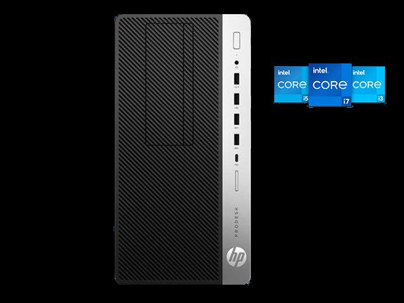 HPI Pro Desk 600 G5 badges