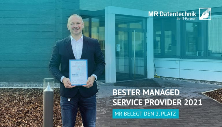 Bester Managed Service Provider 2021 – MR belegt 2. Platz