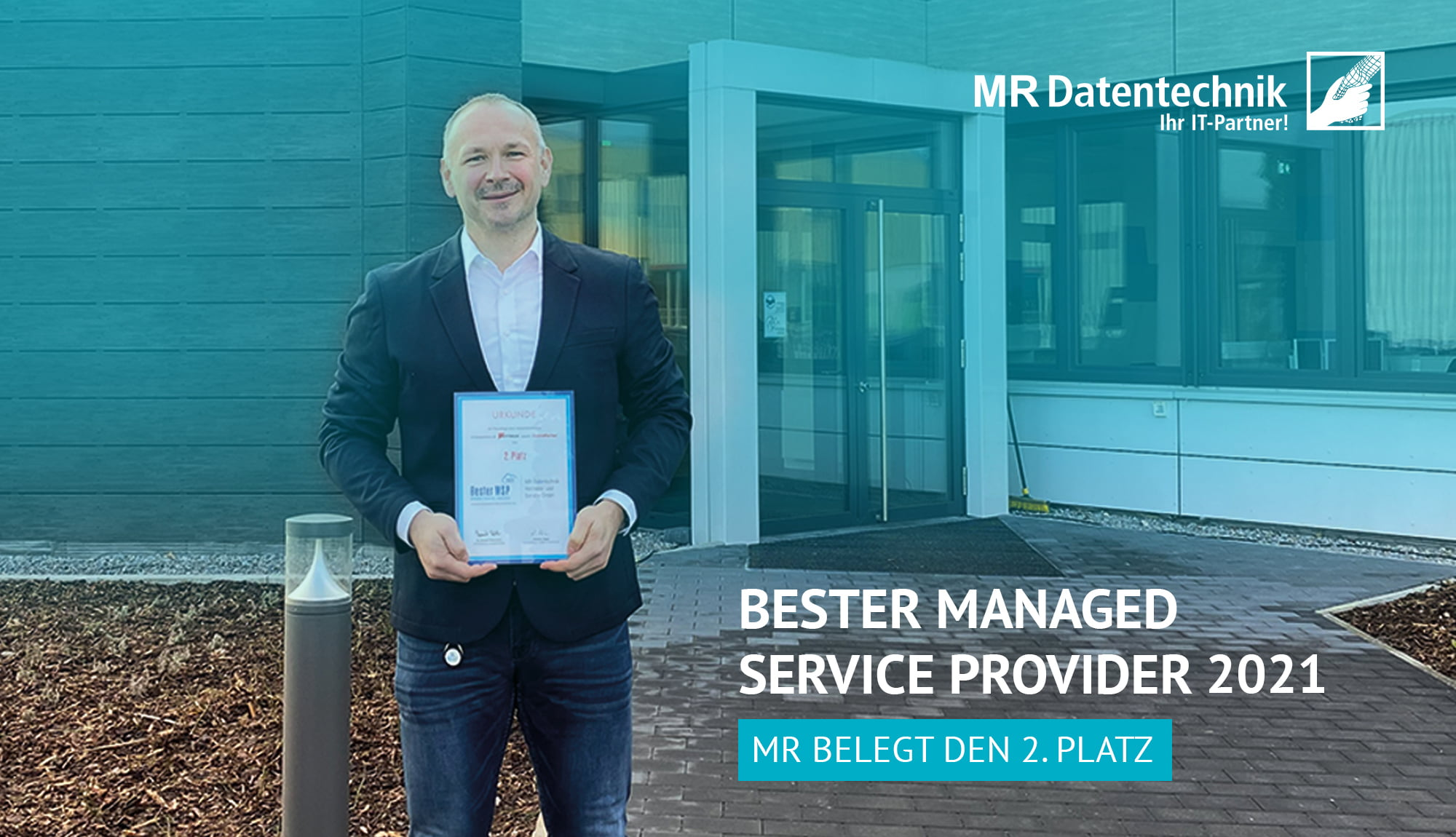 MR Datentechnik Beitragsbild Bester Managed Service Provider 2021