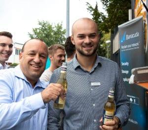 MR Datentechnik Foodtruck Event für Mitarbeiter in Nürnberg