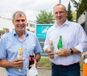 MR Datentechnik Nürnberg Foodtruck Event