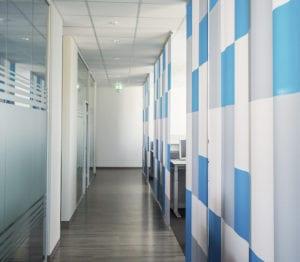 MR Datentechnik Bürogebäude Nürnberg Flur