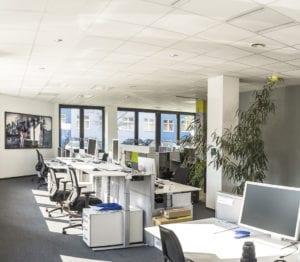 MR Datentechnik Büroräume in Nürnberg