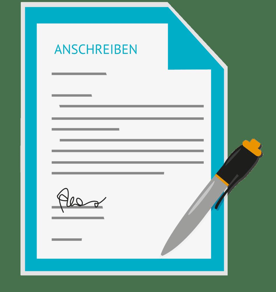 MR Datentechnik Bewerbung und Anschreiben Symbolbild