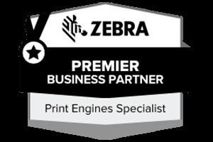 MR Datentechnik Zebra Premier Business Partner Logo