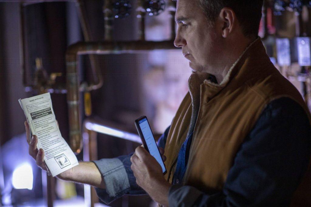Samsung Galaxy XCover Pro im Einsatz