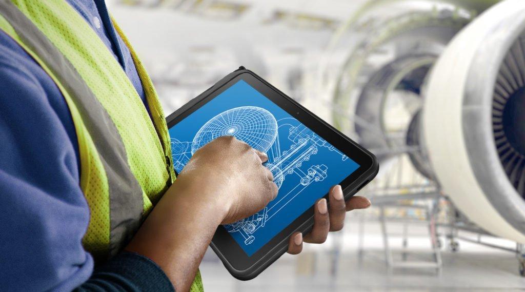 Samsung Ruggedized Tablet im Einsatz