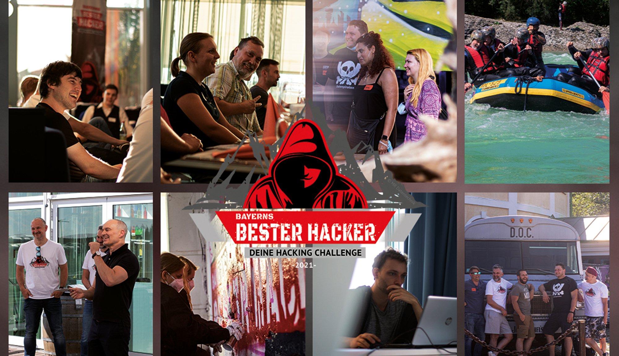 Collage Bayerns Bester Hacker